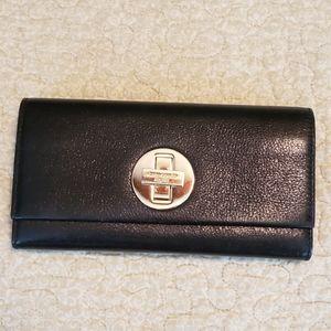EUC Kate Spade Black Leather Wallet